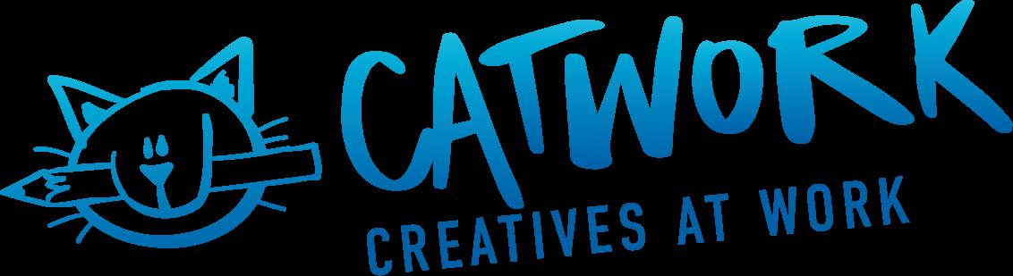 Logo Catwork - Kreative Werbeagentur für Webseiten erstellen lassen