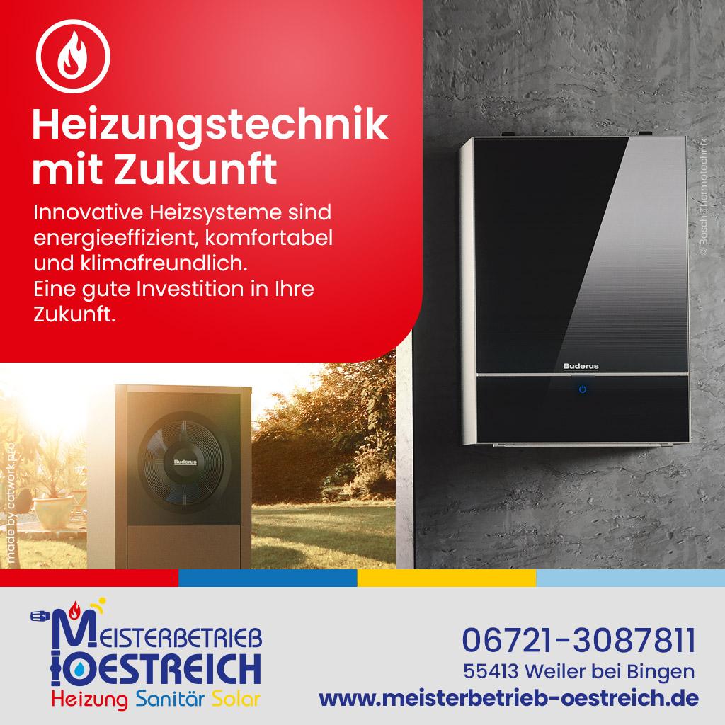 Facebook-Anzeige für Meisterbetrieb Oestreich für Meisterbetrieb Oestreichaus Weiler bei Bingen