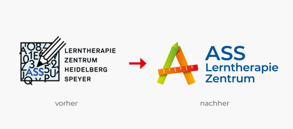 Logo-Re-Design für das ASS Lerntherapie Zentrum